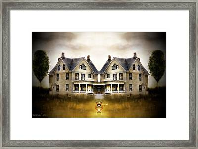 The Dog House Framed Print