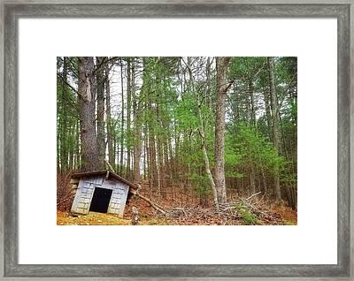 The Doghouse  Framed Print