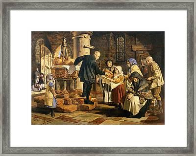 The Dole Framed Print by Jmes Lobley