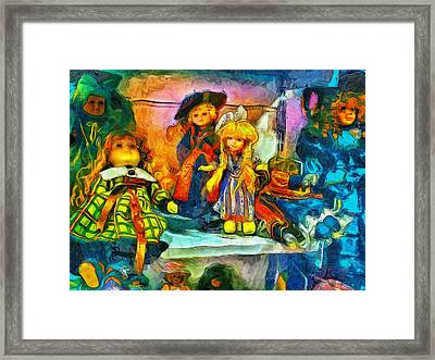 The Dolls Framed Print