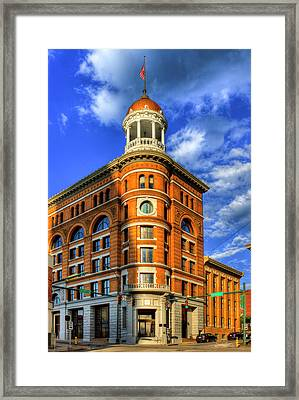 The Dome Building Flatiron Buildings Chattanooga Tennessee Framed Print