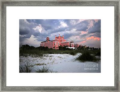 The Don Cesar Framed Print by David Lee Thompson