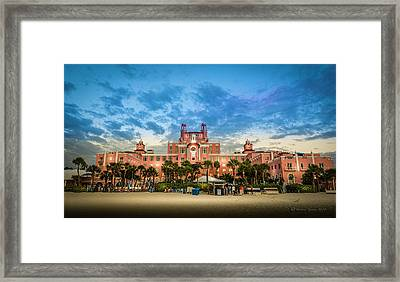The Don Cesar Framed Print by Marvin Spates