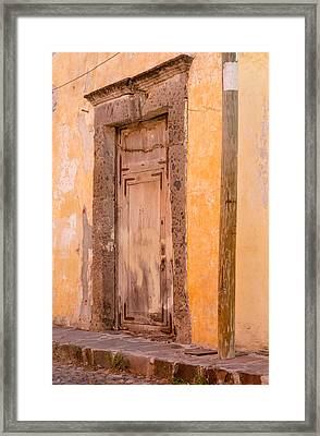The Door At Number 29. Framed Print by Rob Huntley