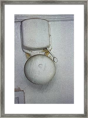 The Door Bell Framed Print by Sandra Church