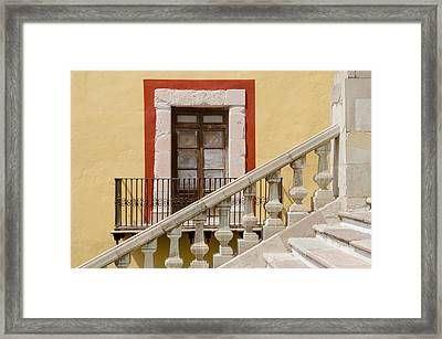 The Door By The Stairs. Framed Print by Rob Huntley