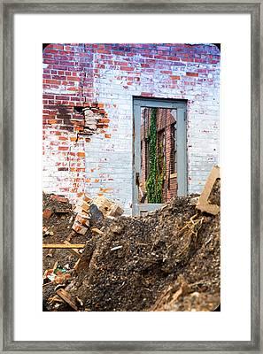 The Door Is Always Open Framed Print