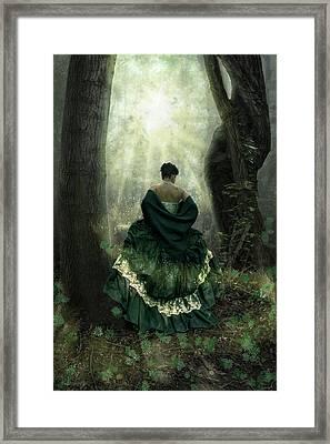 The Door Is Open Framed Print