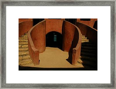The Door Of No Return On Goree Island Framed Print by Bobby Model