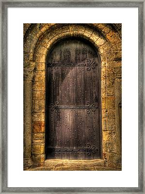 The Door Framed Print by Svetlana Sewell