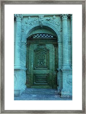 The Door To The Secret Framed Print