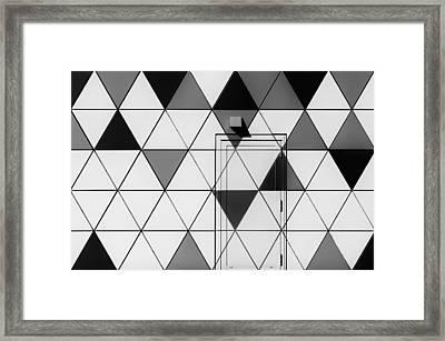 The Door Without Handle Framed Print by Gerard Jonkman