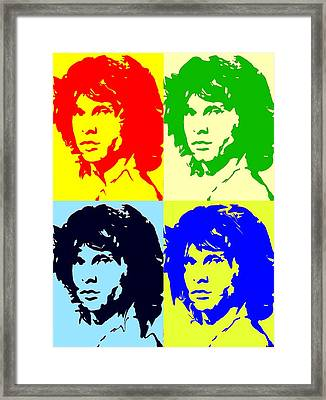 The Doors And Jimmy Framed Print by Robert Margetts