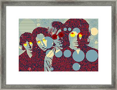 The Doors Light My Fire Framed Print by Dan Sproul