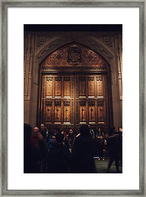 The Doors Of St. Patrick's Cathedral Framed Print