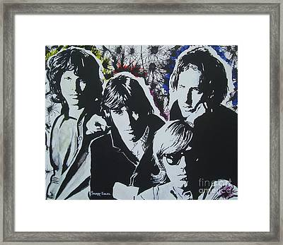 The Doors Framed Print