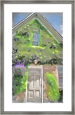 The Doorway Framed Print