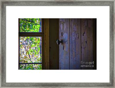 The Doorway To Spring Framed Print