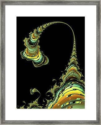 The Doting Mama Framed Print by Susan Maxwell Schmidt