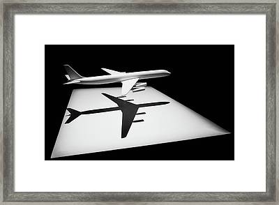 The Douglas Dc-8 Framed Print