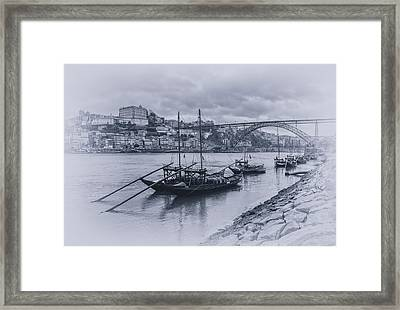 The Douro River Framed Print