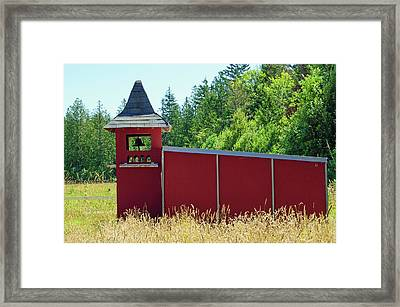 Framed Print featuring the photograph The Dove Loft by Tikvah's Hope