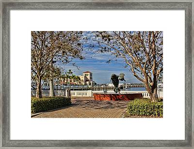 The Downtown Bradenton Waterfront Framed Print