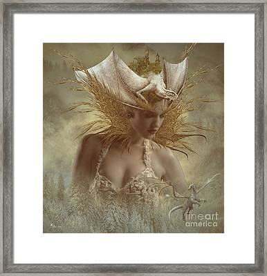 The Dragon Keeper Framed Print