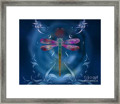 The Dragonfly Effect Framed Print