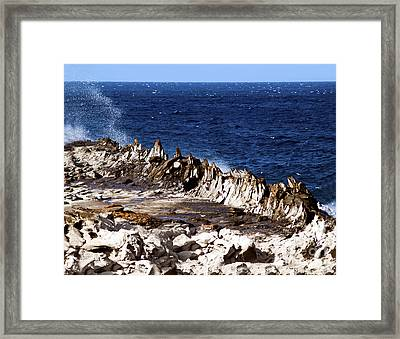 The Dragons Teeth II Framed Print