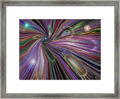 The Drain Framed Print by Tim Allen