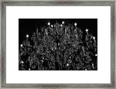 The Drake Chandelier Framed Print