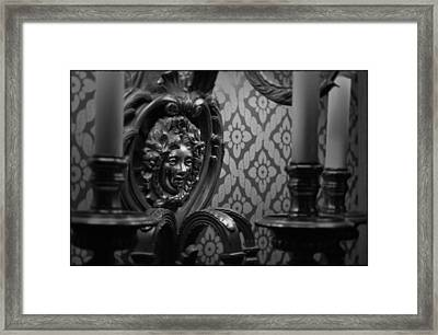 The Drake Face Framed Print
