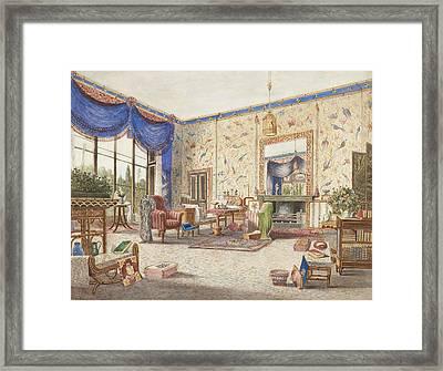 The Drawing Room At Middleton Park, Oxfordshire Framed Print