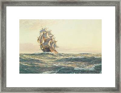 The Dreadnought Framed Print