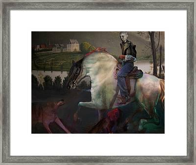 The Dream 1 Framed Print by Henriette Tuer lund