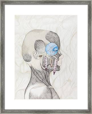 The Dream Catcher Framed Print by Maria Mangus