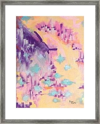 The Dream City Framed Print