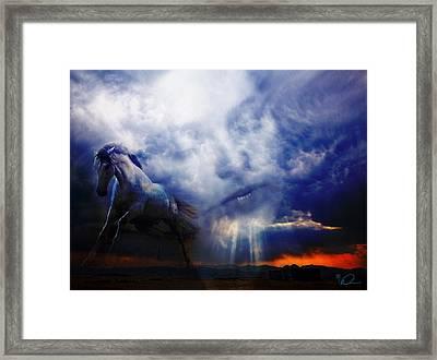 The Dream Framed Print by David Derr