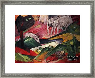 The Dream  Framed Print by Franz Marc