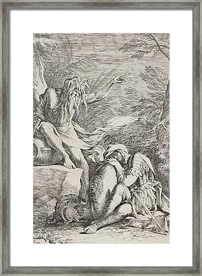 The Dream Of Aeneas Framed Print