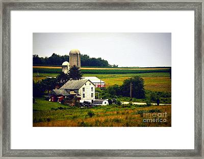 The Dream Of Being Back On The Farm Framed Print