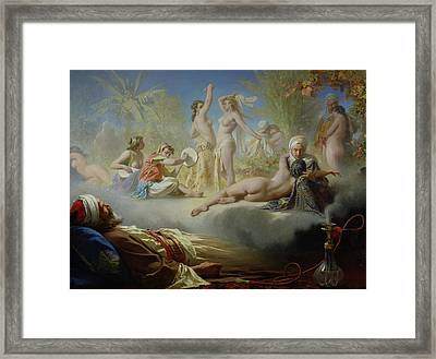 The Dream Of The Believer Framed Print by Achille Zo