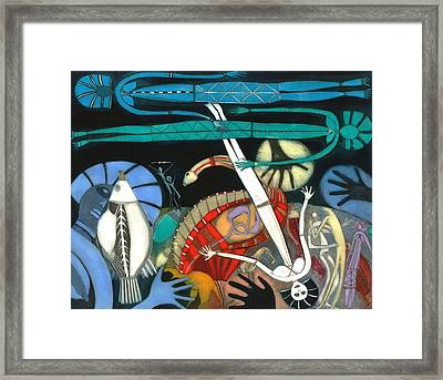 The Dream Of The Fish Framed Print by Annael Anelia Pavlova