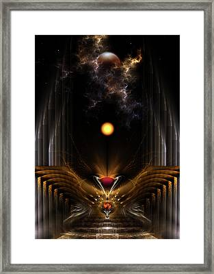 The Dream Oracle Framed Print