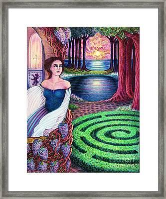 The Dreamer Framed Print by Debra A Hitchcock