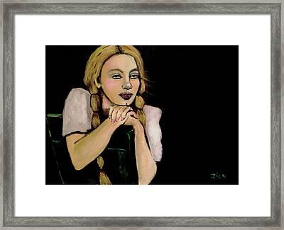 The Dreamer Framed Print by Karen Zima