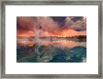 The Dreamery  Framed Print by Betsy Knapp