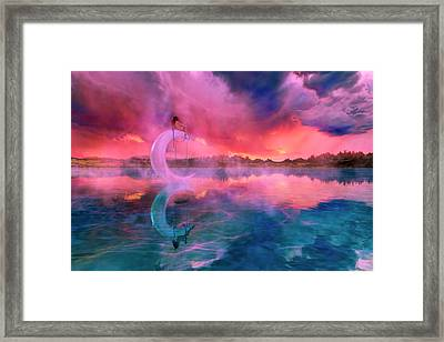 The Dreamery II Framed Print by Betsy Knapp