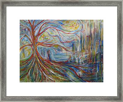 The Dreaming Tree Framed Print by Made by Marley